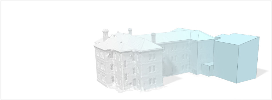 3D Models from Laser Scan Data