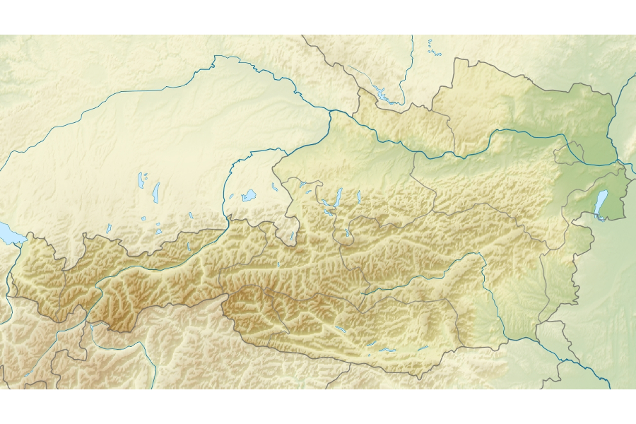 oe3d Digital Elevation Model Austria